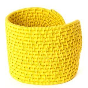 Ghanian Yellow Bangle